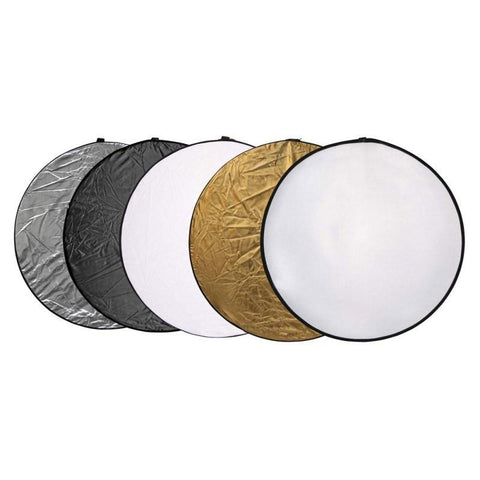 Hypop 2-in-1 82cm Reflector Disc Double Side Photography Lighting Studio