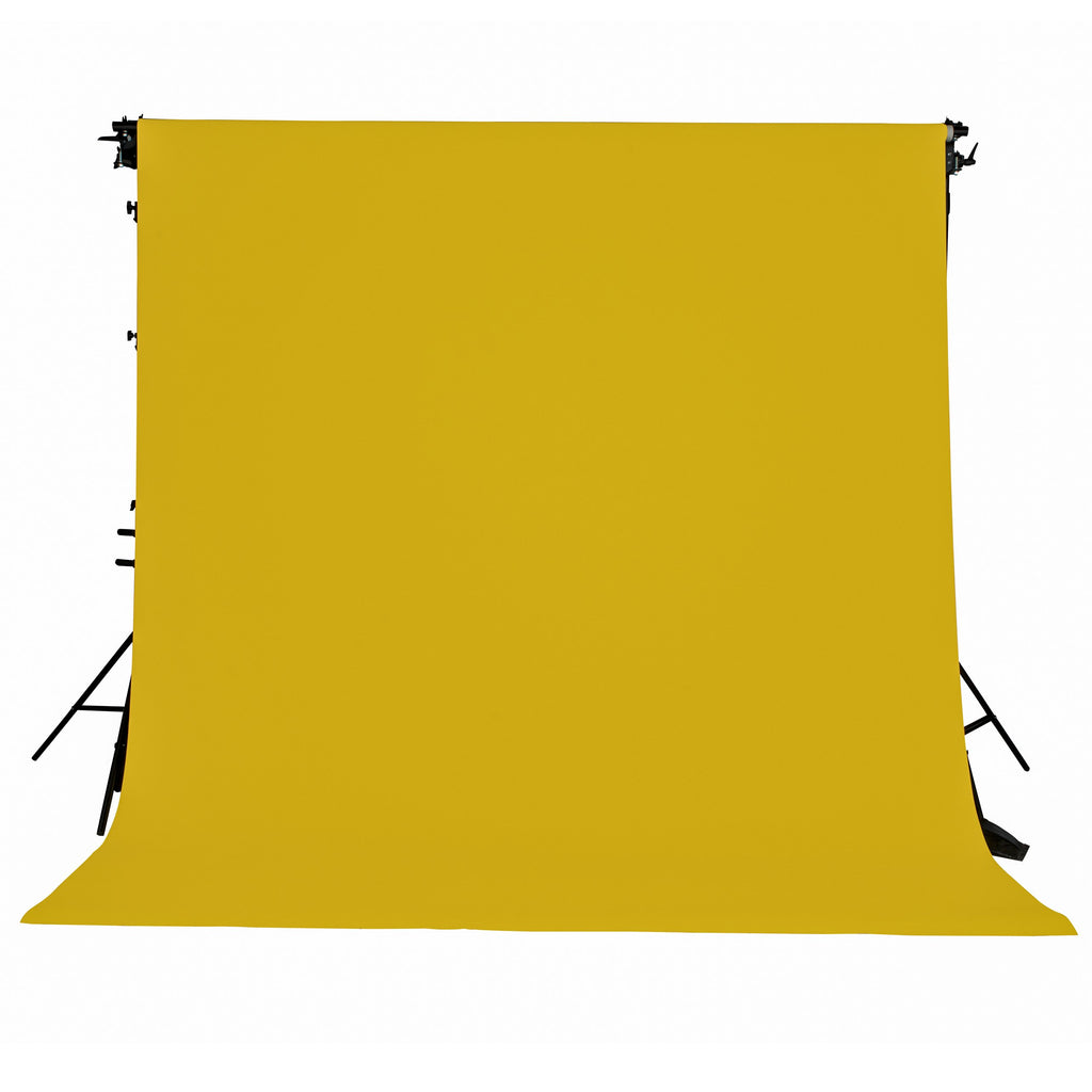 Spectrum Non-Reflective Paper Roll Backdrop (2.7 x 10M) - Lemon Zest Yellow