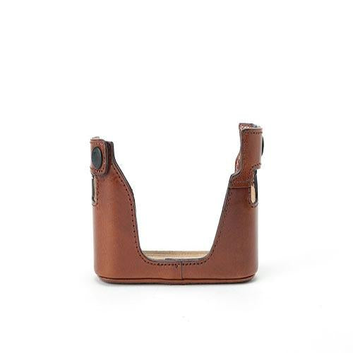 Artisan & Artist LMBM-BRN Leather Half Case (Brown) exclude
