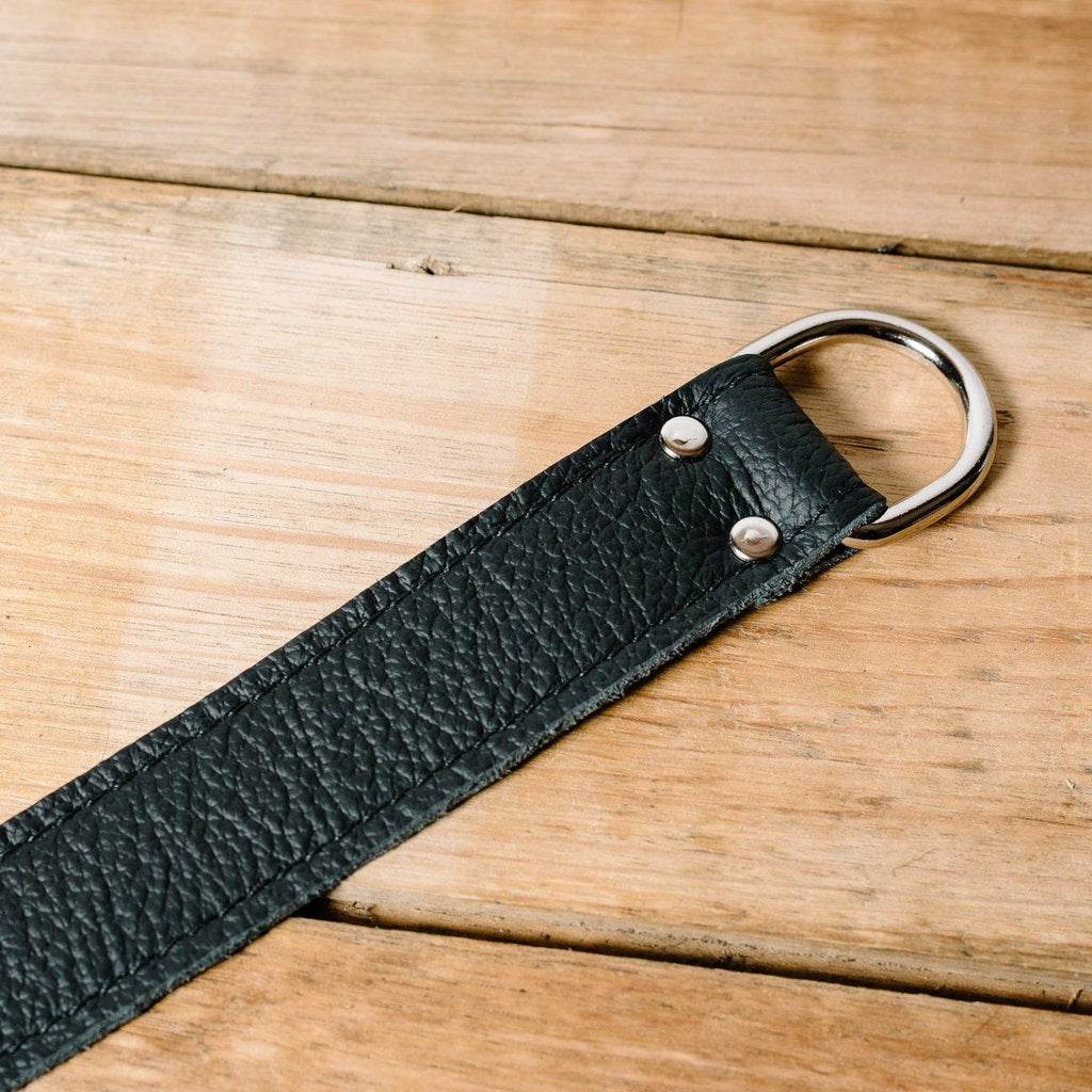 Lucky Straps Leather Camera Wrist Strap - Black