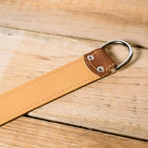 Lucky Straps Leather Camera Wrist Strap - Brown/Tan