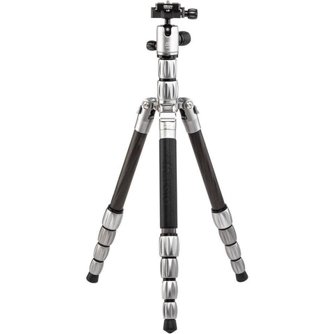MeFOTO Backpacker S Travel Tripod Carbon Fibre - Titanium (6kg Load)