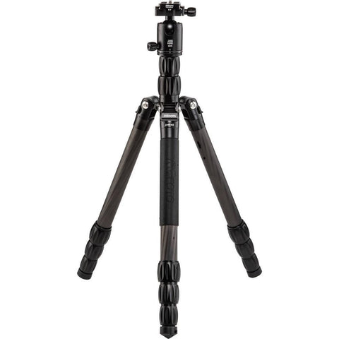 MeFOTO Globetrotter S Travel Tripod Carbon Fibre - Black (12kg Load)