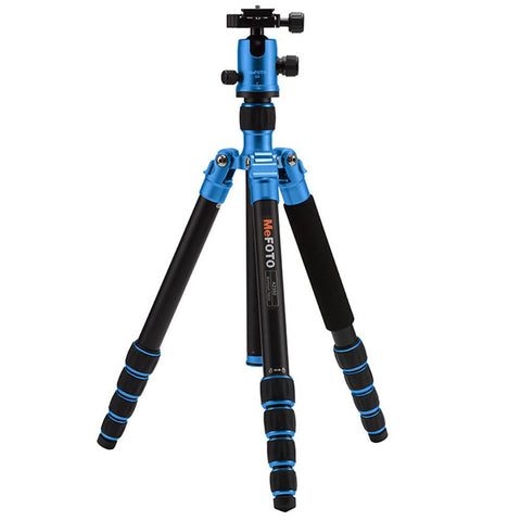 MeFOTO Backpacker Compact Tripod Kit Aluminium - Green