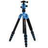 MeFOTO GlobeTrotter Travel Tripod Kit Carbon Fibre - Blue