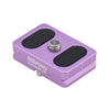 MeFOTO QR Plate for Backpacker Air Purple