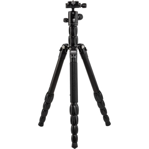 MeFOTO Roadtrip S Travel Tripod Carbon Fibre- Black (8kg Load)