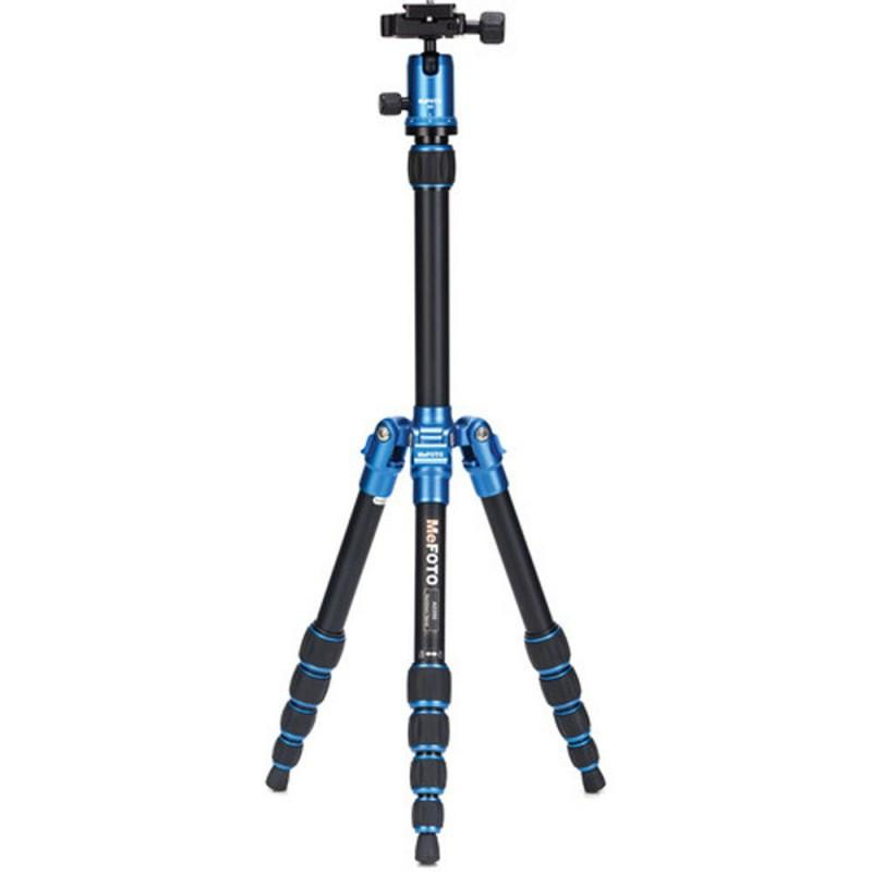 MeFOTO Backpacker Compact Tripod Kit Aluminium - Blue exclude