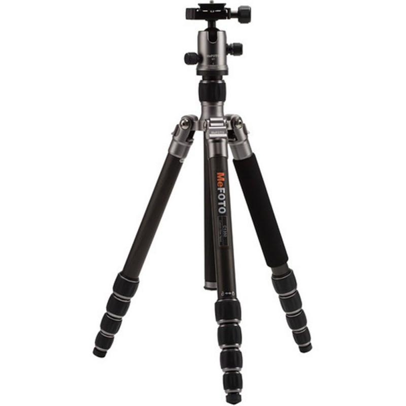 MeFOTO Roadtrip Convertible Tripod Kit Carbon Fibre - Titanium