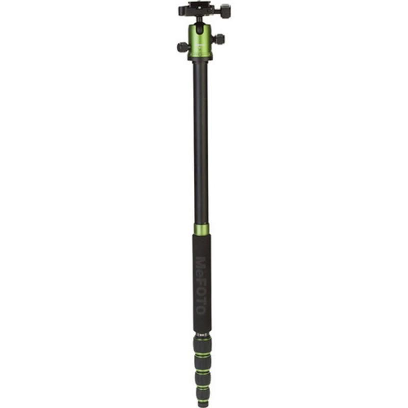 MeFOTO Roadtrip Convertible Tripod Kit Aluminium - Green