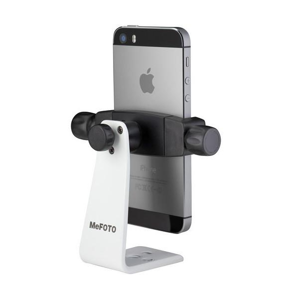 MeFOTO SideKick360 Mobile Phone Holder – White