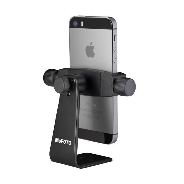 MeFOTO SideKick360 Mobile Phone Holder – Black