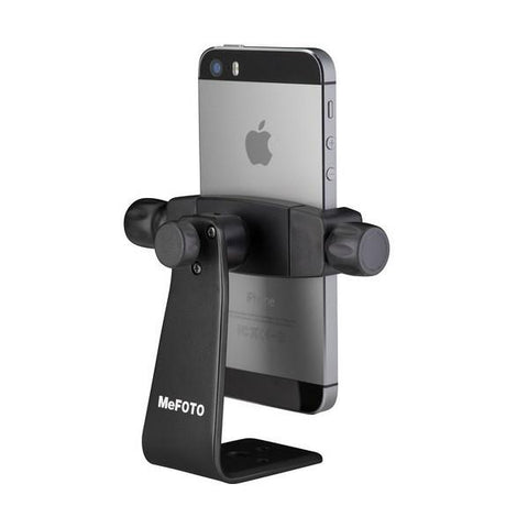 MeFOTO SideKick360 Plus Mobile Phone Holder - Black