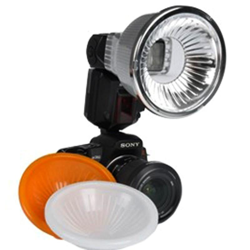 Micnova Universal Inverted Dome Clear Flash Diffusion System MQ-ZA