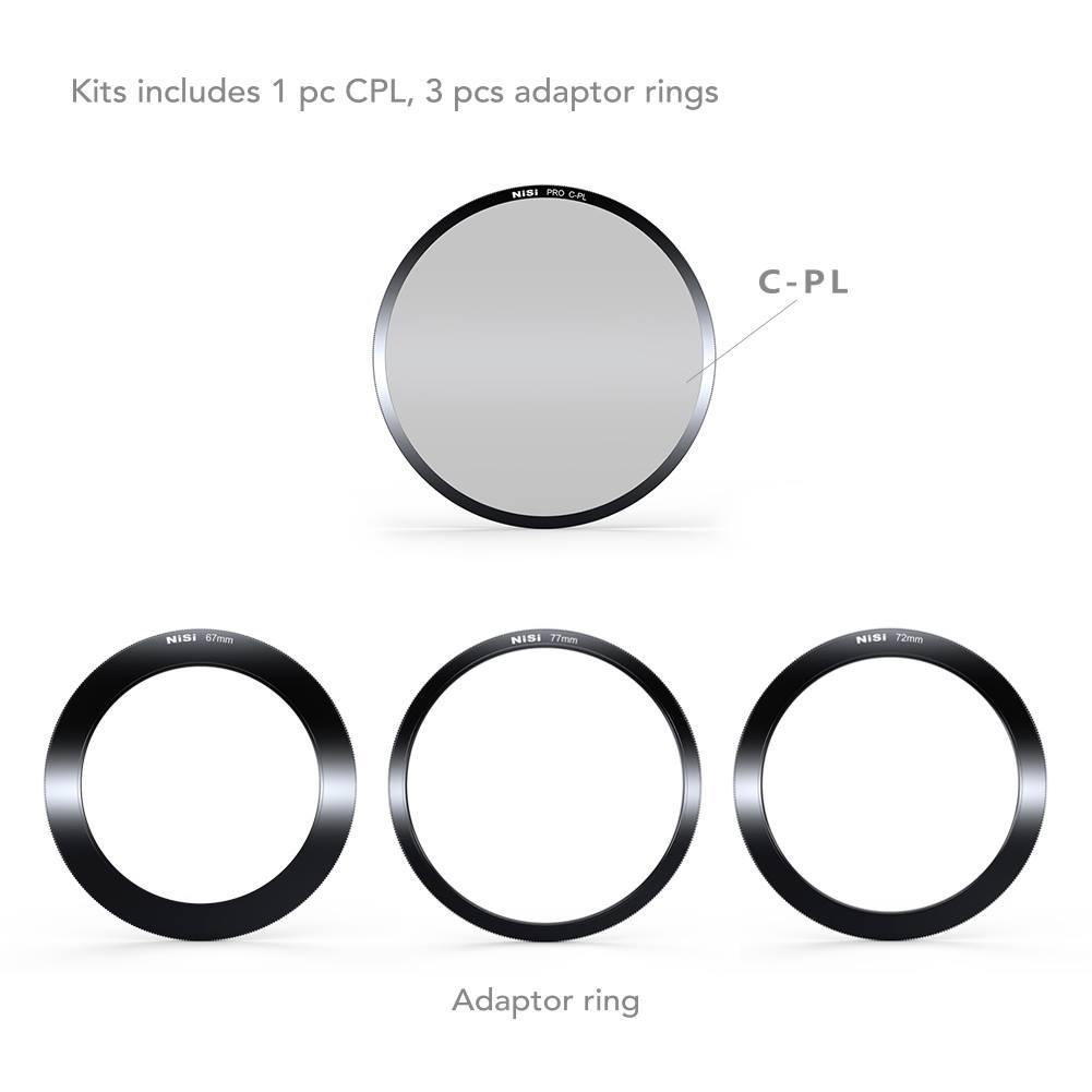 NiSi 100mm Aluminium Filter Holder Kit V5