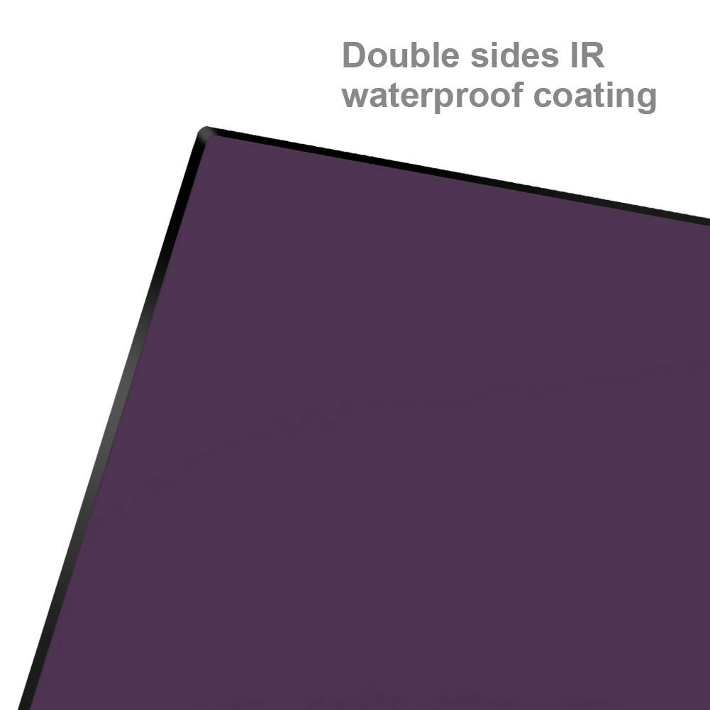 Nisi 100x100mm Nano IR Neutral Density filter ND3200 (4.5) 15 Stop Super Stopper