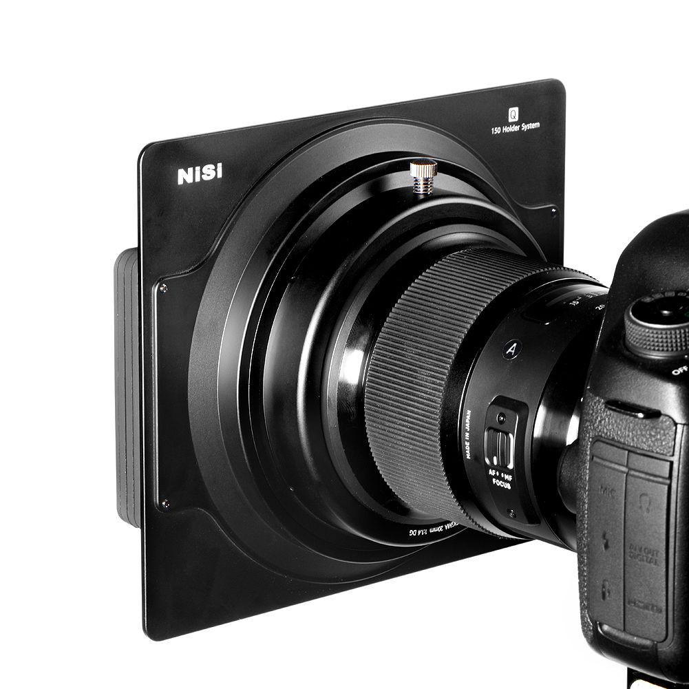 NiSi 150mm Aluminum Square Filter Holder Specially for Nikon 14-24mm,360 Degree Rotation,Without Vignetting Design