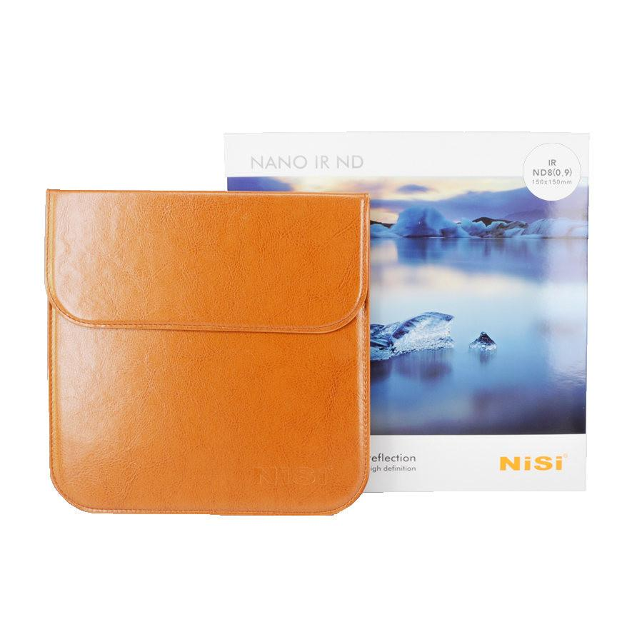 Nisi 150x150mm Nano IR Neutral Density filter – ND8 (0.9) – 3 Stop