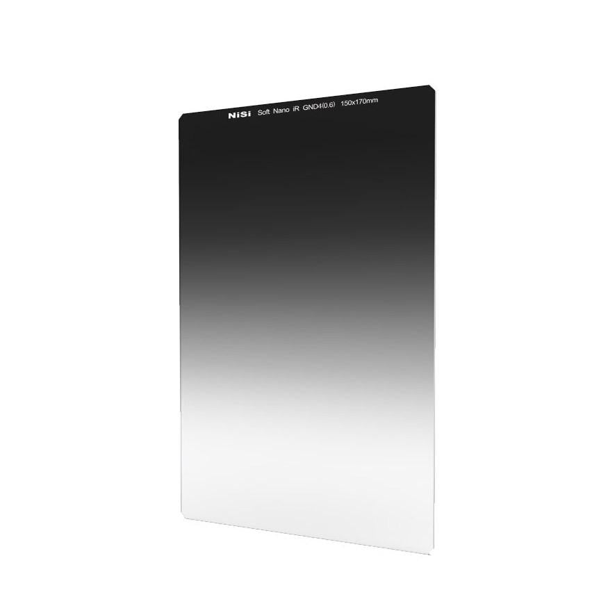 Nisi 150x170mm Nano IR Soft Graduated Neutral Density Filter ND4 (0.6) 2 Stop