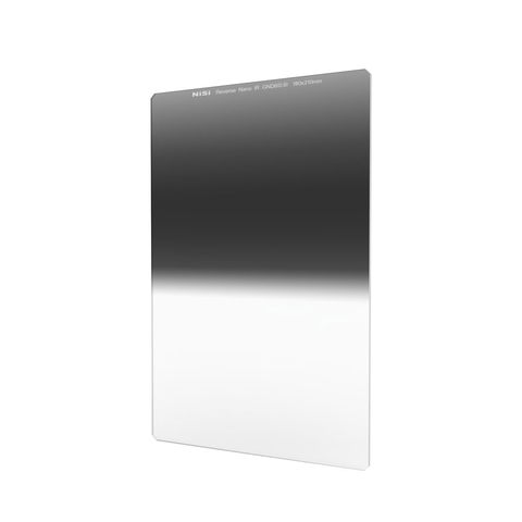 Nisi 180x210mm Reverse Nano IR Soft Graduated Neutral Density Filter – ND8 (0.9) – 3 Stop