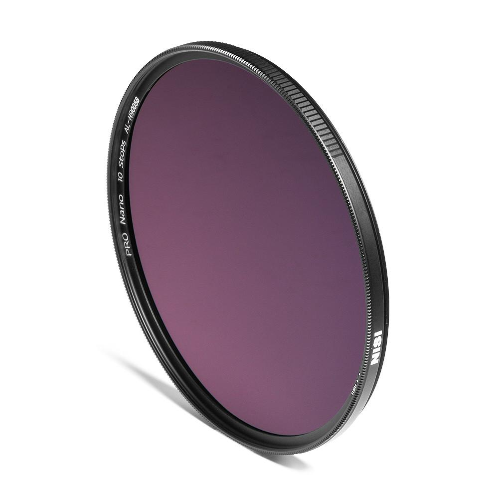 NiSi 67mm Nano IR Neutral Density Filter ND1000 (3.0) 10 Stop exclude