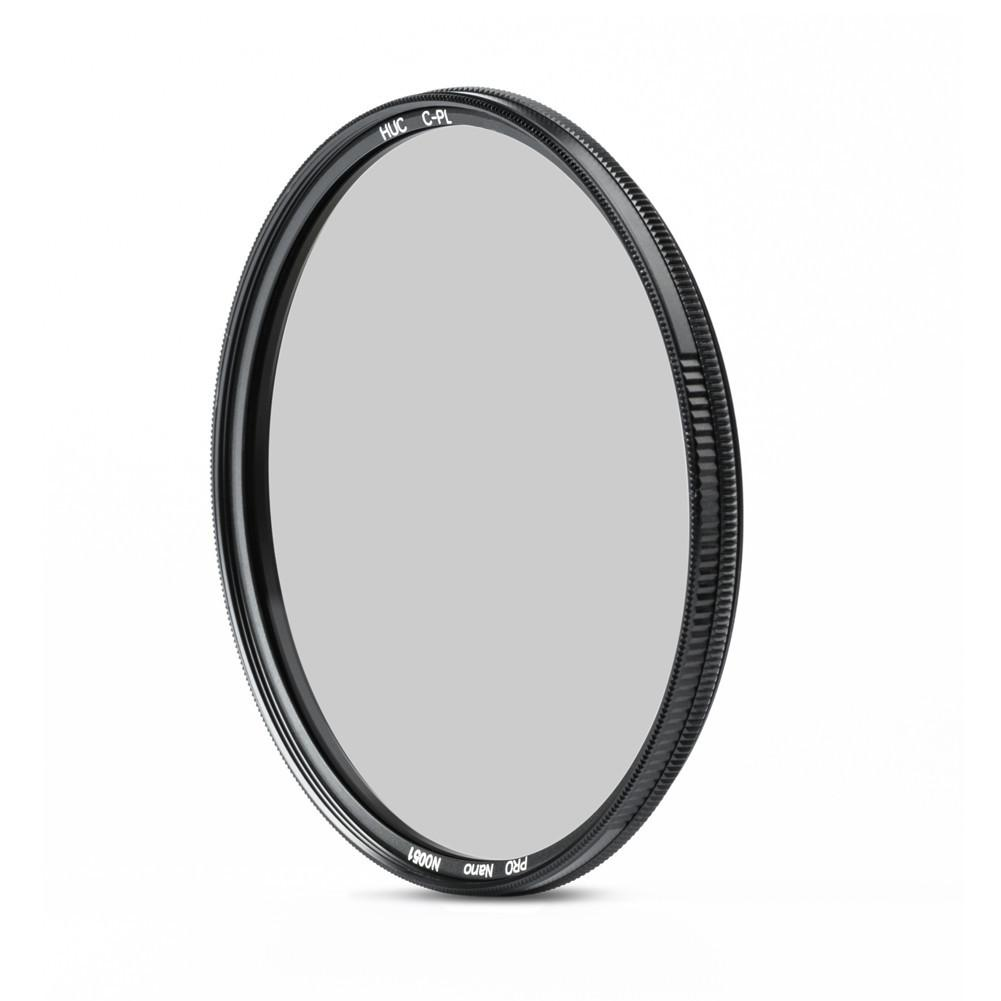 NiSi HUC C-PL PRO Nano 62mm Circular Polarizer Filter exclude