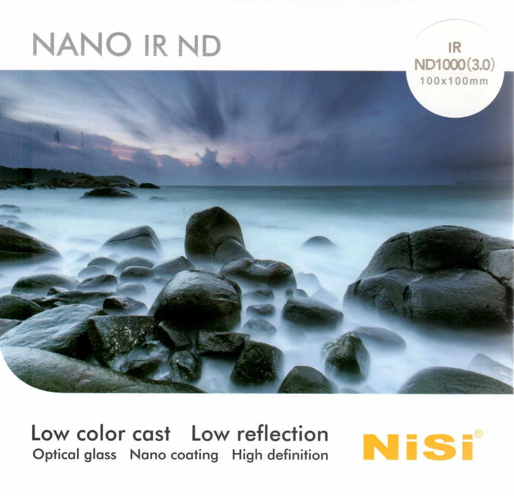 NISI IR ND1000 150mm Square Neutral Density Filter (3.0, 1000x, 10 Stops)