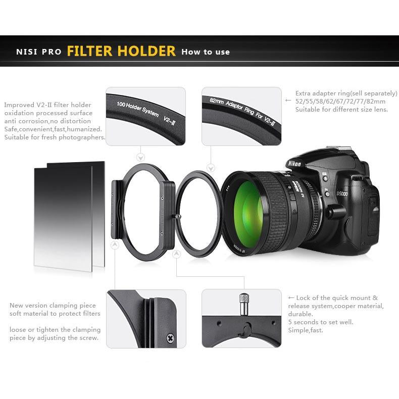 NISI Adapter for Sigma 21-24mm lens (fit with 150mm NIKON 14-24MM filter holder)