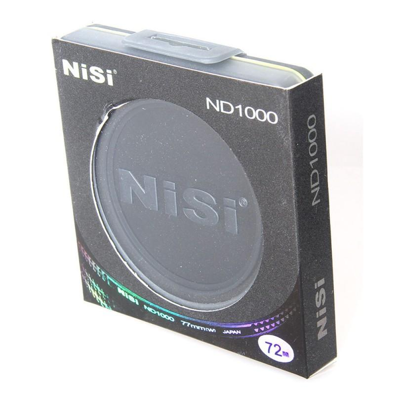 NiSi Ultra-Thin 72mm ND1000 ND 3.0 Neutral Density Filter 10 stop