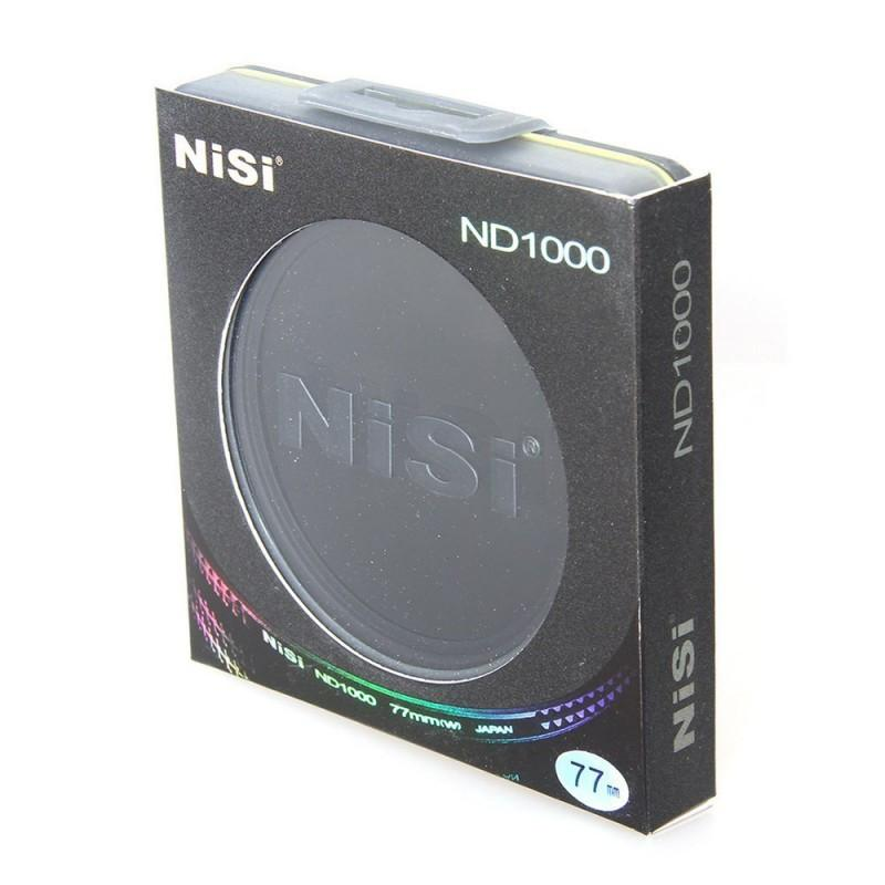 NiSi Ultra-Thin 77mm ND1000 ND 3.0 Neutral Density Filter 10 stop