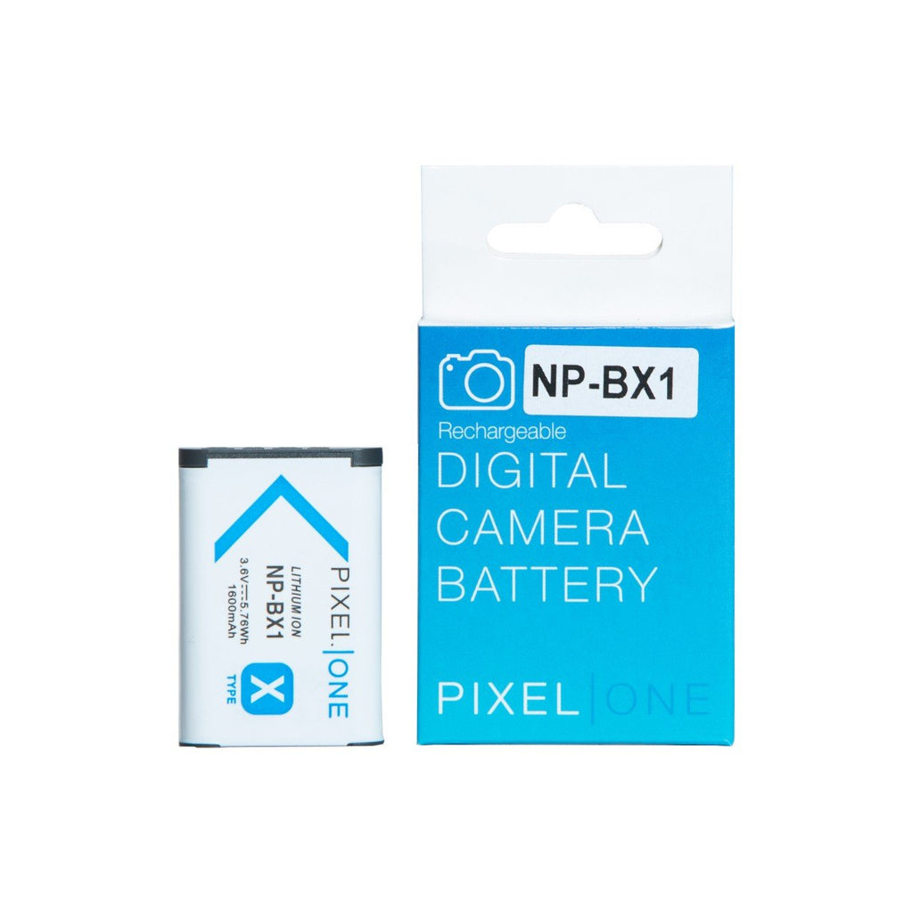 Pixel One Li-Ion Battery Replacement for Sony NP-BX1