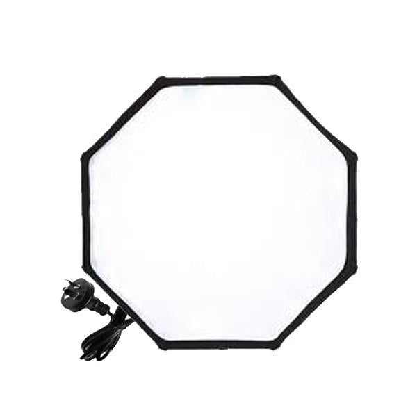 Hypop 60cm Octagon Soft Box With e27 mount With Single Bulb (Connector Only)