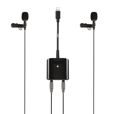 Rode SC6-L Mobile Interview Kit for Apple Devices