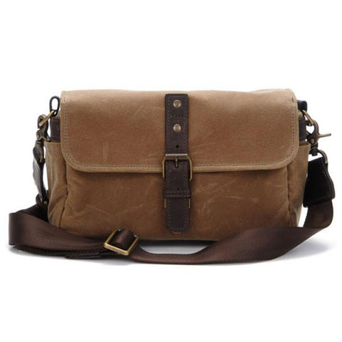 ONA Bowery Camera Bag Field Tan (Canvas) ONA5-014RT