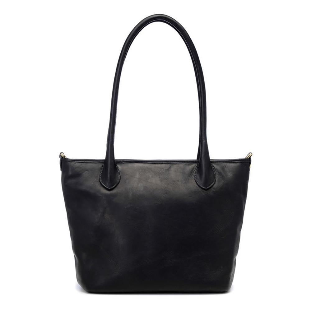 ONA Leather Capri Camera Tote Bag - Black Italian-tanned leather. (ONA009LBL) exclude