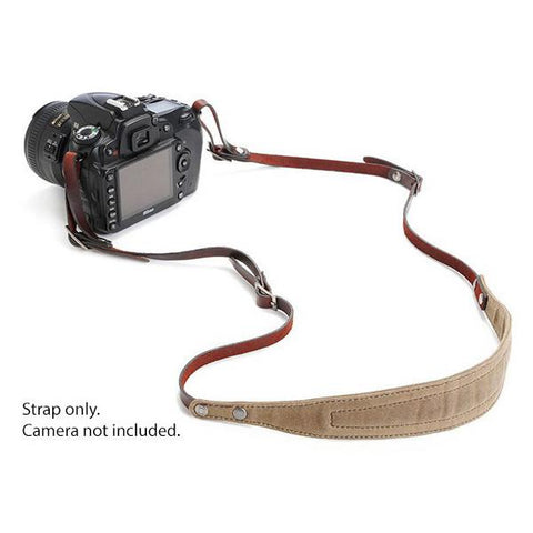 ONA LIMA Camera Strap - Field Tan (ONA5-015RT)