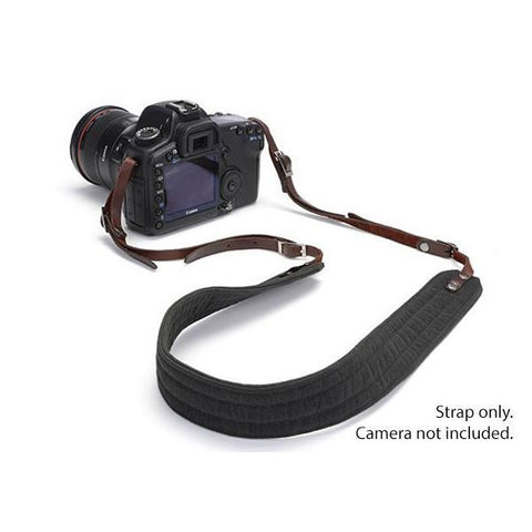 ONA PRESIDIO Camera Strap - Black (waxed canvas) ONA5-023BL