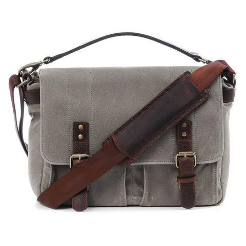 ONA Prince Street Camera & Laptop Messenger Bag - Smoke (ONA5-024GR )