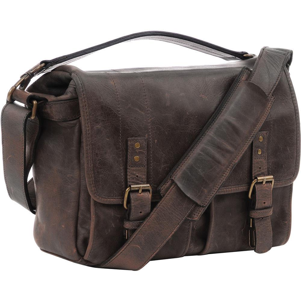 ONA Prince Street Camera and Laptop Messenger Bag - Dark Truffle (ONA5-024LDB) exclude