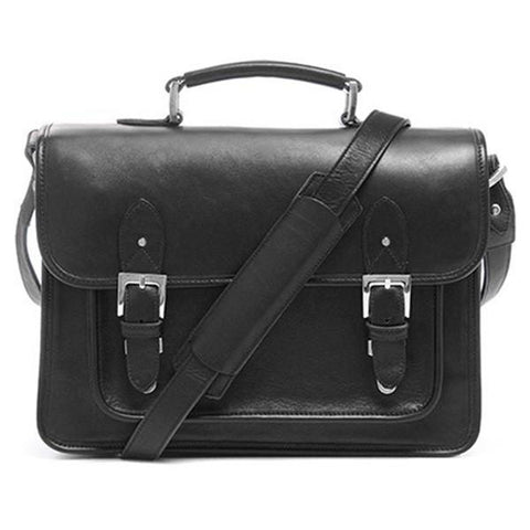 ONA The Brooklyn Shoulder Bag (Black) ONA007BL