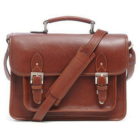 ONA The Brooklyn Shoulder Bag (Chestnut) ONA007BR