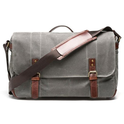 ONA Union Street Messenger Bag (Smoke) ONA5-003GR