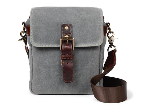 ONA Bond Street Waxed Canvas Camera Bag (Smoke)