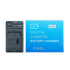Pixel One LC-E12 battery charger for Canon EOS-M Mirrorless Camera