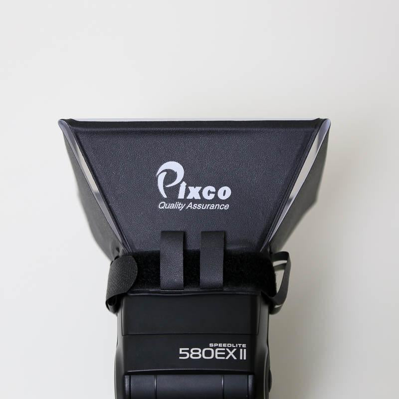 Pixco 10x13cm Flash Diffuser Softbox for Camera External Flash