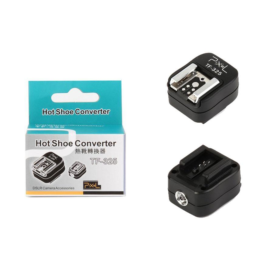 Pixel TF-325 Sony TTL Flash Hot Shoe Converter to PC Sync Cord Socket Adapter exclude
