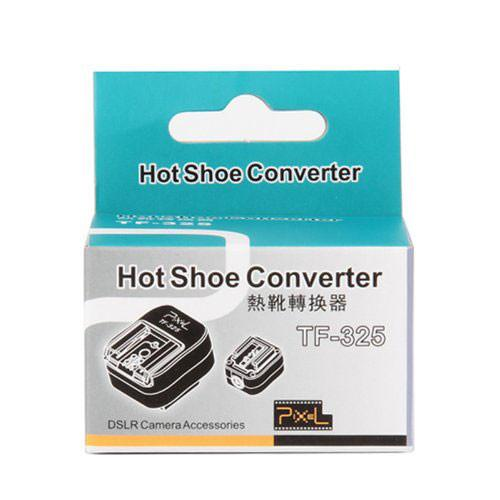 Pixel TF-325 Sony TTL Flash Hot Shoe Converter to PC Sync Cord Socket Adapter