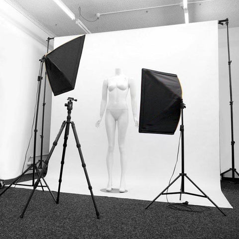 Hypop Fashion Product Photography Lighting Kit