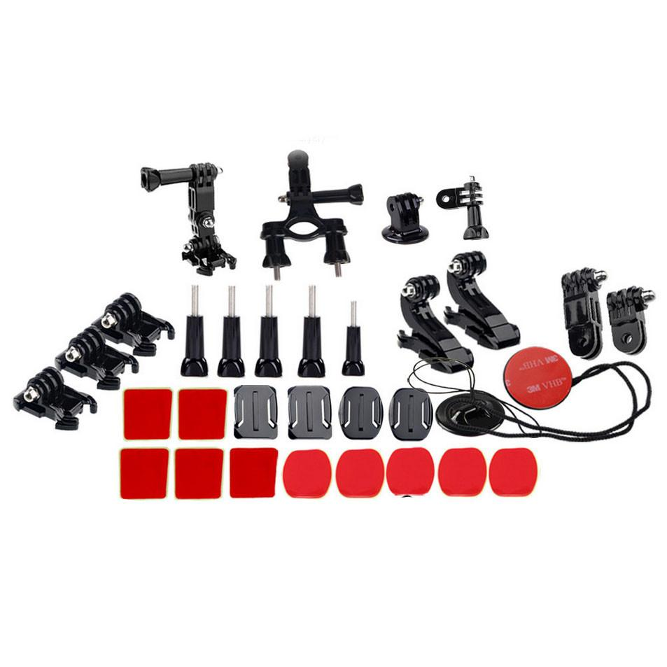 Hypop GoPro 35 in 1 Accessory Kit for Head Chest & Cycling with 3M Adhesive Set