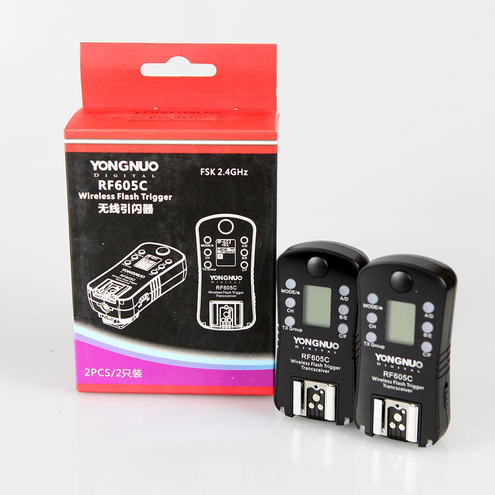 Yongnuo RF-605C Wireless 2.4GHz Flash Trigger Set for Canon
